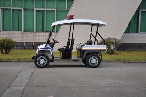 Long Maximum Mileage 4 Wheel Intra Field Electric Patrol Car Cruiser pictures & photos