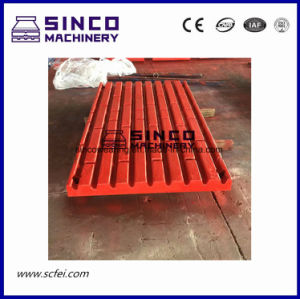 Crusher Parts Manganes Jaw Plate for Metso Shanbao etc