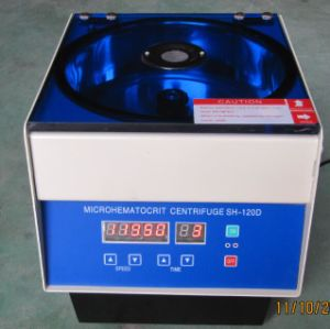 Digital Micro Hematocrit Centrifuge for Laboratory Jsh-120d pictures & photos