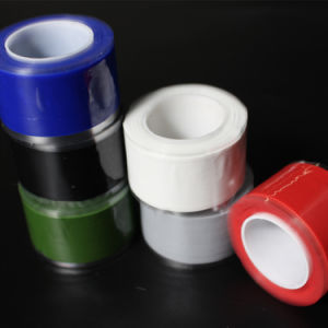 Silicone Rubber End Wrap Self-Fusing Compression Tape pictures & photos