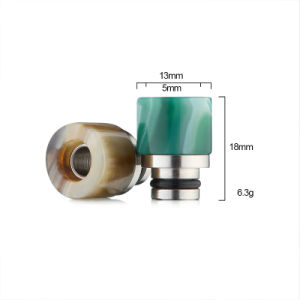 Agate Drip Tips 510 Epoxy Resin Drip Tip pictures & photos