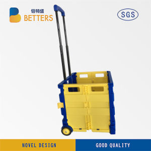Very Good Quality Portable Shopping Trolley pictures & photos