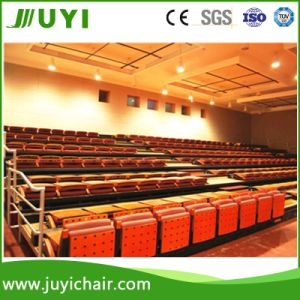 Indoor Gym Bleachers Fabric Seating with Armrest Chair Electric Moveable Chair pictures & photos