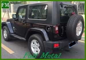 Jk Mopar 2/4 Doors Black Side Bar for 2007-2016 Jeep Wrangler pictures & photos