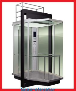 1m/S Small Machine Room Panoramic Lift with 6/6 Stop pictures & photos