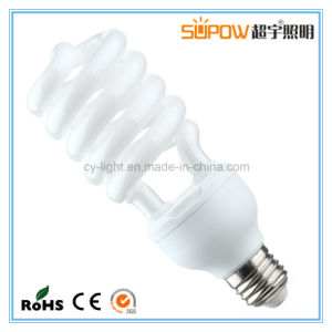 Half Spiral 50W 55W T5 Energy Saving Lamp Compact Light pictures & photos