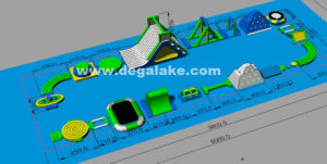 New Design Inflatable Floating Water Park pictures & photos