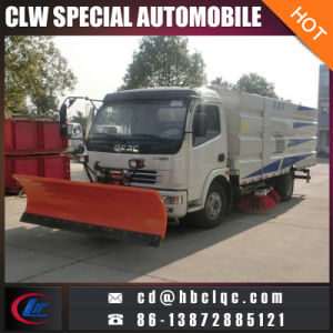 Dongfeng 6m3 7m3 Snow Removal Street Sweeper Truck Mounted Sweeper pictures & photos