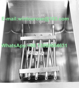 16L Single Stainless Steel Electric Fryer with Oil Valve pictures & photos