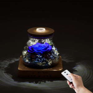 Preserved Flower Gift in Glass for Valentine′s Day pictures & photos