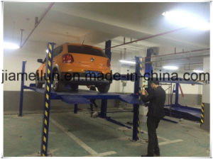 Simple Four Post Car Stacker Parking Lift pictures & photos