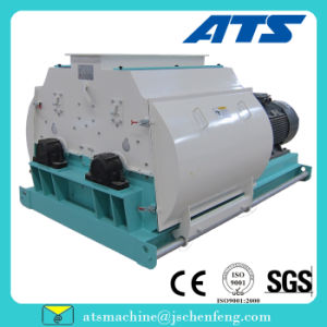 Double Motor Fine Grinding Pulverizer with Grain Cereal Material for Animal Feed pictures & photos