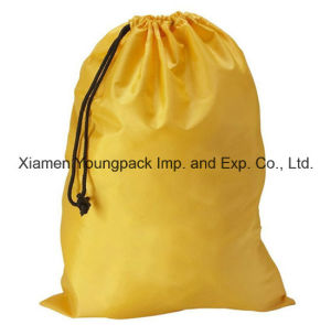 Personalized Extra Large Heavy Duty White Nylon Mesh Drawstring Laundry Bag pictures & photos