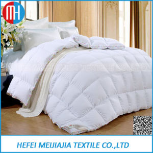 Factory Wholesale Cheap Bleached Cotton Feather Down Comforter Quilt Case pictures & photos