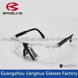 Wholesale High Impact Resistance Safety Glass Eye Safety Glasses with Myopia Frame Insert pictures & photos