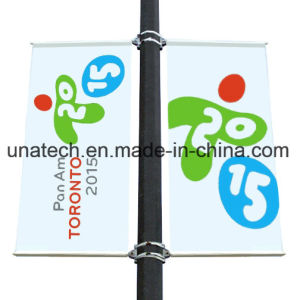 Outdoor Street Light Pole Advertising Sign Flex Banner Arm pictures & photos