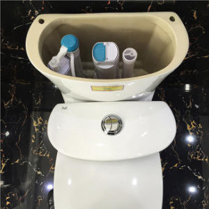 Good Quality Easy to Clean One Piece Porcelain Toilet pictures & photos