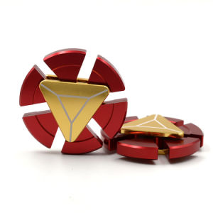 Aluminium Iron Man Hand Spinners Metal Fidget Spinners pictures & photos