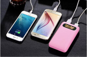 Ultra Thin 10000mAh Power Bank External Backup Battery Charger pictures & photos