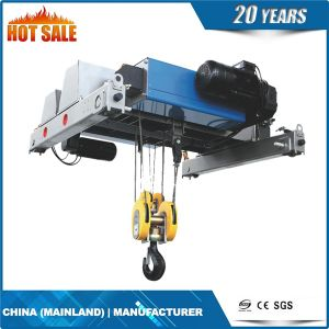 220V Single Speed Electric Wire Rope Hoist pictures & photos