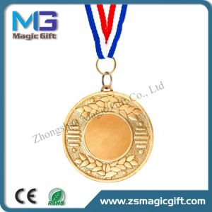 Customized Blank Gold Medal pictures & photos