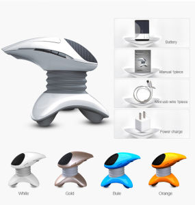 Rechargeable Micro Vibration Portable Massager with Music pictures & photos