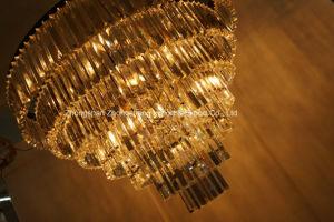 Luxury Custom-Made Lobby Crystal Pendant Chandelier Light (KA1213-7) pictures & photos