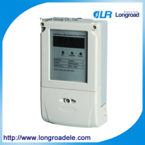 Electronic Single Phase Digital Energy Meter Price pictures & photos