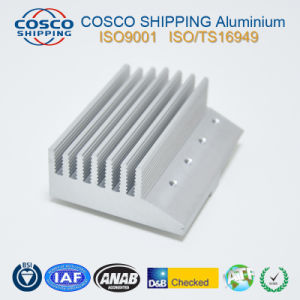 High Cooling Performance Aluminium Profile for Heat Sink with CNC Machining pictures & photos