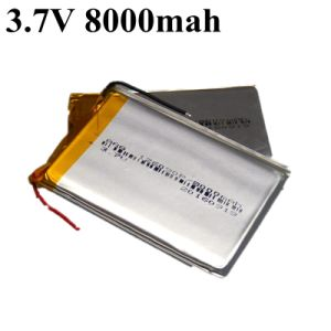 Tablet PC Battery 3.7V 8000mAh Polymer Lithium Ion / Li-ion Battery for Tablet PC E-book Power Bank MP4 Laptop GPS System pictures & photos