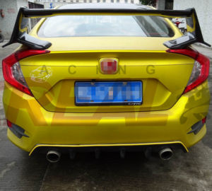 10th 2016 ABS Rear Diffuser for Honda Civic pictures & photos