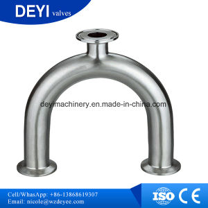 Stainless Steel Sanitary Tri Clamped U Type Tee pictures & photos