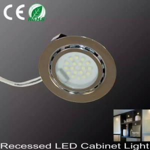 1.5W Recessed LED Puck Light Cabinet Light Spotlight pictures & photos