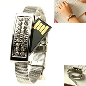 Bracelet Diamond USB Flash Drive Best for Christmas Gift 2016 pictures & photos