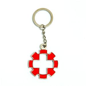 Customized Metal Enamel Key Ring pictures & photos