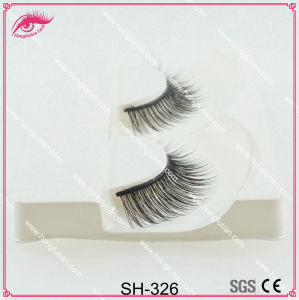 Natural Black Artificial Mink Eyelash for Eye Beauty pictures & photos