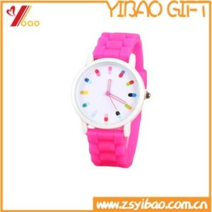 Custom Design Silicone Wristband for Watch (YB-SM-05) pictures & photos