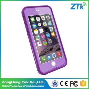 Purple 5.5inch Lifeproof Mobile Phone Case for iPhone 6 Plus Waterproof pictures & photos