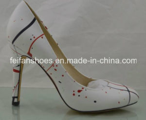 2017 Women High Heels Shoes Formal Shoes Dress Shoes (FFHH112301) pictures & photos