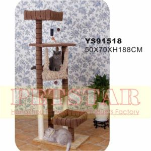 Luxary Cat Tree Ys91518 pictures & photos