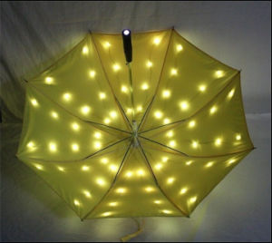 Custom LED Light Umbrella Promotional Umbrella pictures & photos