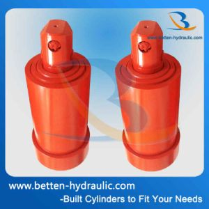 2 Stages Telescopic Hydraulic Cylinder for Construction Vehicles pictures & photos