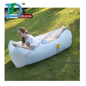 Inflatable Best Selling Air Sofa Lazy Bag Air Couch for Outdoor Sleeping pictures & photos