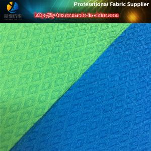 Polyester 2 Ways Stretch/Spandex Jacquard Fabric in Diamond for Mountaineering Suit pictures & photos