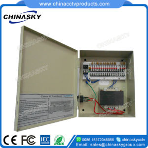 24VAC 5AMP 18 Channel Boxed CCTV Camera Power Supply (24VAC5A18P) pictures & photos
