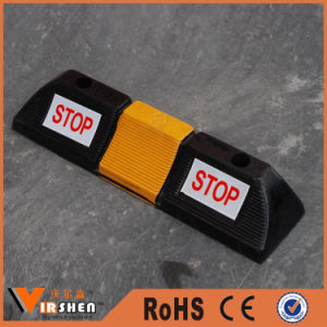 Parking Safety Solid Rubber Vehicle Wheel Chocks Car Parking Stopper pictures & photos