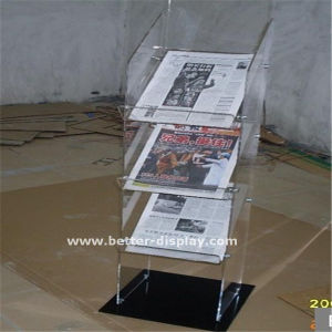 Acrylic Table Top Advertising Brochure Holder (BTR-H6015) pictures & photos