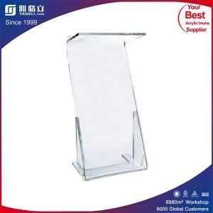 Hot Sale Customized Side Acrylic Clear Sign Holders pictures & photos