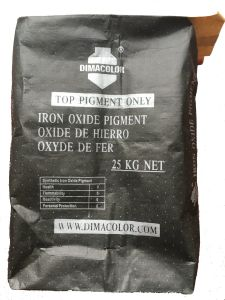 Water Soluble Iron Oxide Black T90 (PBl11) for Cement / Cathay 9765 pictures & photos