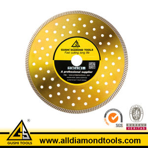 Super Thin Diamond Turbo Saw Blade for Cutting Tile pictures & photos